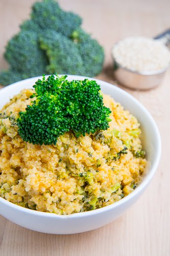 Cheesy Broccoli Quinoa 500 4620