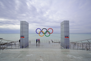Olympic Rings photographer: Benjamin Thomas
